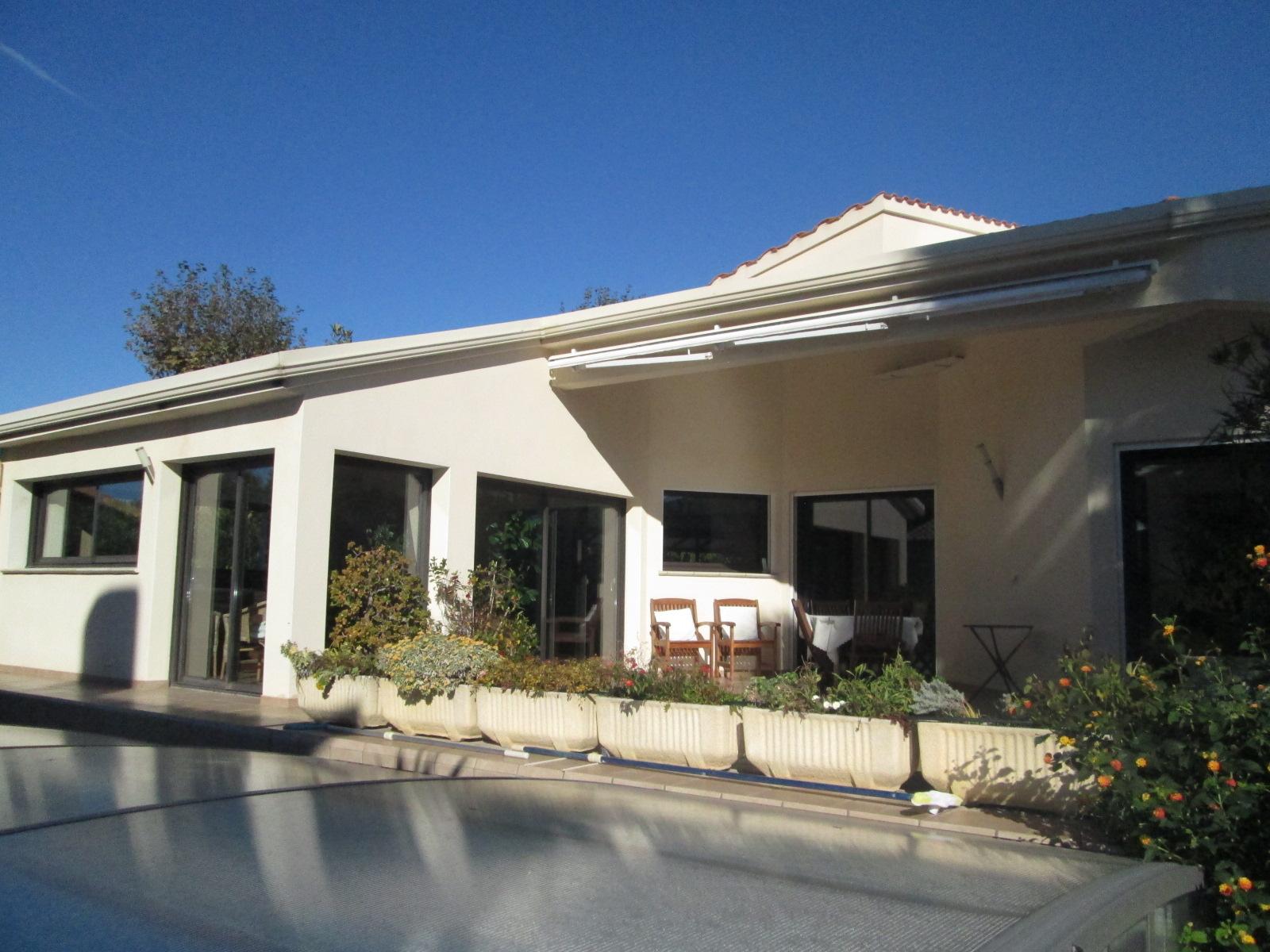 Vente saint cyprien plage superbe villa d 39 architecte avec piscine - Agence du port saint cyprien ...